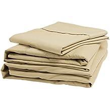 denver rv narrow king size microfiber sheet set latte by denver mattress - Denver Mattress Sale