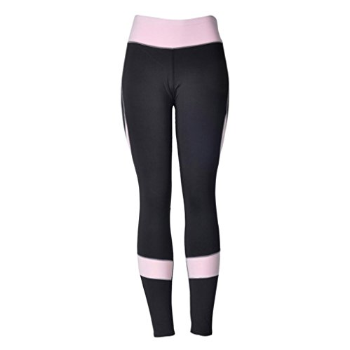 HOMEBABY Women Sports Leggings Ladies Workout Yoga Workout Gym Fitness Exercise Pants Jumpsuit Athletic Skinny Girls Slim Running Fitness Stretch Trouser Heart-Shaped Pants