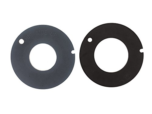Dometic 385316140 Rubber Seal Kit for Toilet - Black/Gray