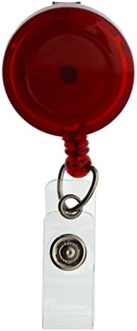 Spring Clip Retractable Badge Reel