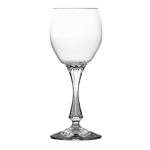 (Crystaljulia 4281 Crystal Sherry Glass, 100 ml, 6 x 6 x 16 cm, 6 Units )