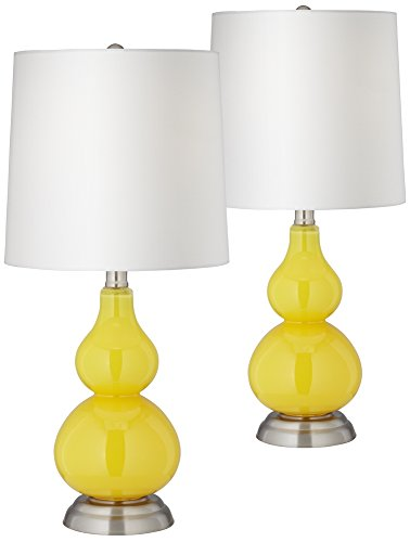 Yellow Handcrafted Lamp - 3