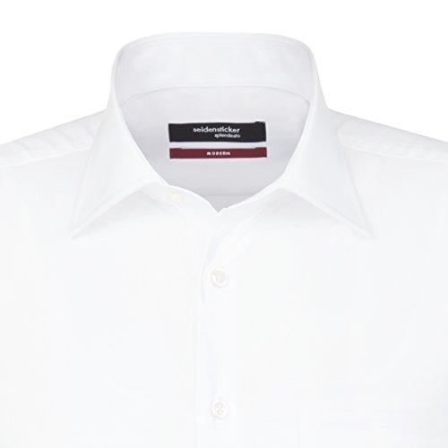 Bianco Classico Camicia 0001 weiß Seidensticker Uomo pOwyWqTcpz