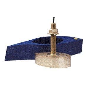- Furuno 526T-HDD Bronze Broadband Thru-Hull Transducer w/Temp, Built-In Diplexer & Hi-Speed Fairing Block 1kW (10-Pin) (17061)