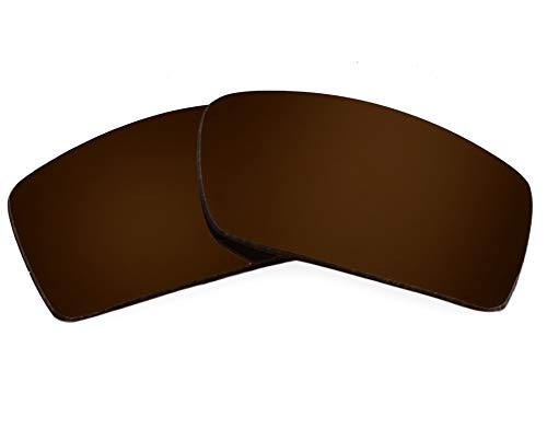 Replacement Lenses Compatible with OAKLEY Gascan Polarized Bronze Brown