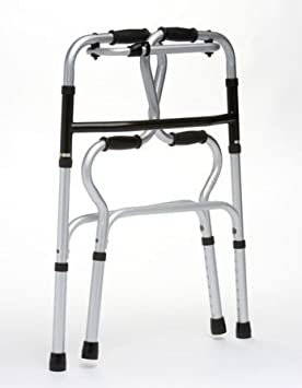 Hi Riser plegable de aluminio ligero andador para caminar walker ...