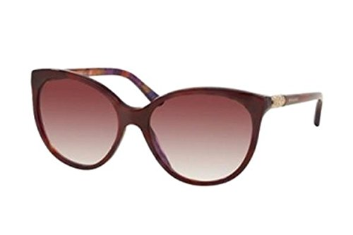 Bvlgari Women's BV8147B To Red on Marble Violet Frame / Violet Gradient Round 57mm Sunglasses