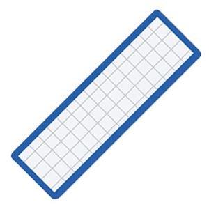 生活日用品 (まとめ買い) マグネット見出し 19×75×1.2mm 青 マク-402B 1個 【×40セット】 B074JQGZQ9
