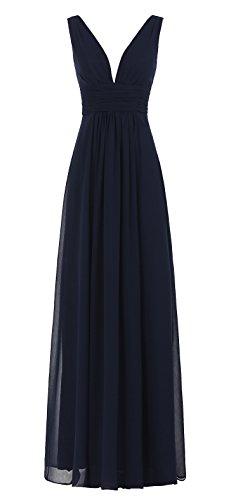 junior bridesmaid dresses in navy - 8