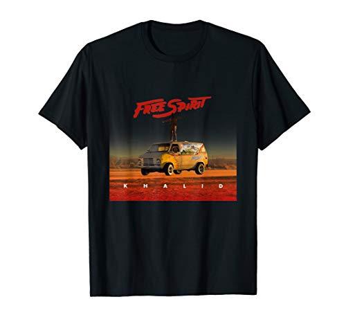Country American Teen Fan Lovely-Khalid T-shirt Free Spirit (Spirit Free Tshirt)