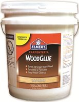 - ELMERS Product 5 Gallon Yellow Pail Carpenter's Interior Wood Glue (E706)