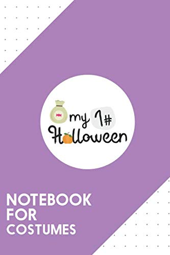 Halloween Vampire Doughnuts (Notebook for Costumes: Dotted Journal with My First Halloween Pumpkin Design - Cool Gift for a friend or family who loves funny presents!   6x9