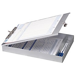 Construction Binder - OfficemateOIC Aluminum Forms Storage Clipboard, 8.5 x 12 Inch (83200)