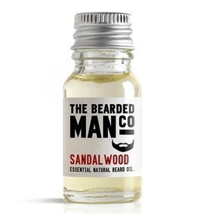 Sandalwood The Bearded Man Huile à barbe 10 ml Image