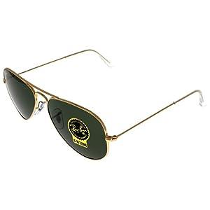 Ray Ban Sunglasses Aviator Gold Unisex RB3025 W3234