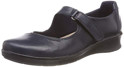 Hope Navy Loafers Henley Blue Clarks Leather Women's q0UwxgBBz