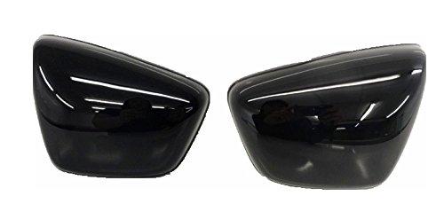 OEM Yamaha 1984-up XV 700 750 1000 1100 Virago Right Left Side Panel Cover Black