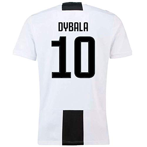 4c054af1574 Paulo Dybala 10 Juventus 2018-2019 Home Men s Soccer Jersey Color White  Size S