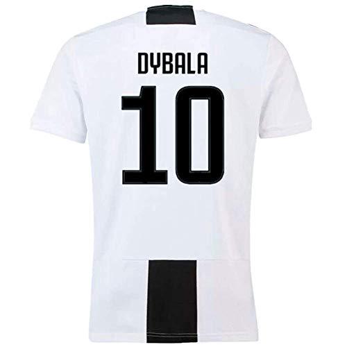 36cbb1469c5 Paulo Dybala 10 Juventus 2018-2019 Home Men s Soccer Jersey Color White  Size S