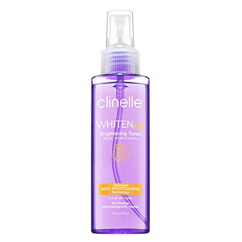 Clinelle Whitenup Brightening Toner 120ml - A Hydrating Mist Spray Toner That Refines Pores | Paraben Free, Lanolin Free, Mineral Oil Free | Suitable For All Skin Types