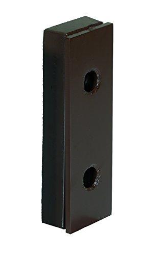 Vestil B-516-SF Steel Face Molded Rubber Bumper, 2