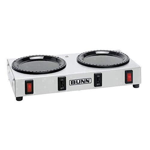 Bunn 06310.0004 WX2 Double Burner Decanter Coffee Warmer Dual Burner 120V