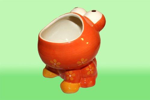 Red Frog Flower Pot For Sale