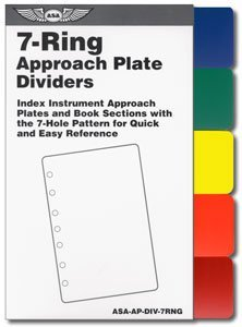 7 Ring Approach Plate Dividers Asa-ap-div-7rng