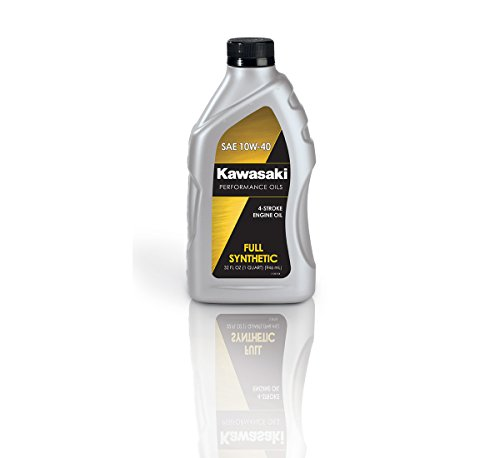 Kawasaki 4-Stroke Full Synthetic Motorcycle Oil 10W40 1 Quart