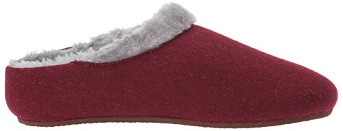 Slipper Slip Chloe Burgundy Slipper Women's On Freewaters House wYxq61I