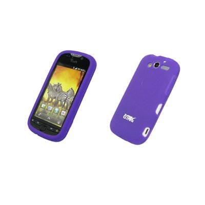 EMPIRE Purple Silicone Skin Cover Couverture Case Étui Coque for HTC myTouch 2010