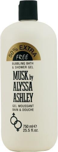 Alyssa Ashley MUSK Bubbling Bath and Shower Gel limited edition 750 ml by Alyssa Ashley