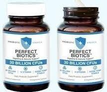 Probiotic America Perfect Biotics Digestive and Immune Support 30 billion CFUs 15 strains 30 capsules (1 Jar)