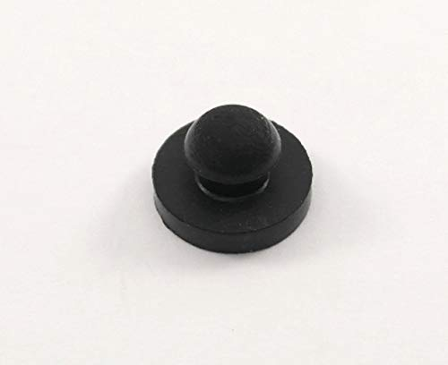 "Rubber Push-in Ridged Stem Bumper 9/16"" Diameter"