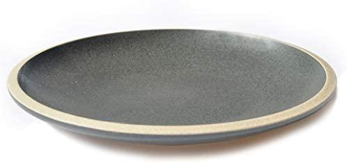 THE CHEF COLLECTION – Plato Llano Zen 21, Colección Zen, plato llano de cerámica japonés, 21,3x21,3x3,0 cm