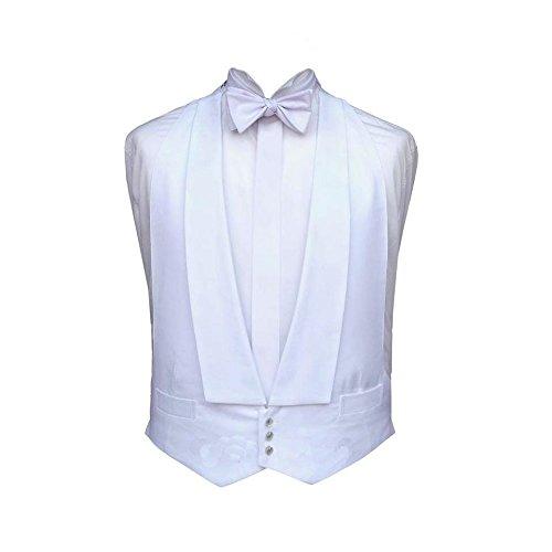 Bathroom Heaven Marcella Gilet Blanc Robe pour soirée/Tail combinaison