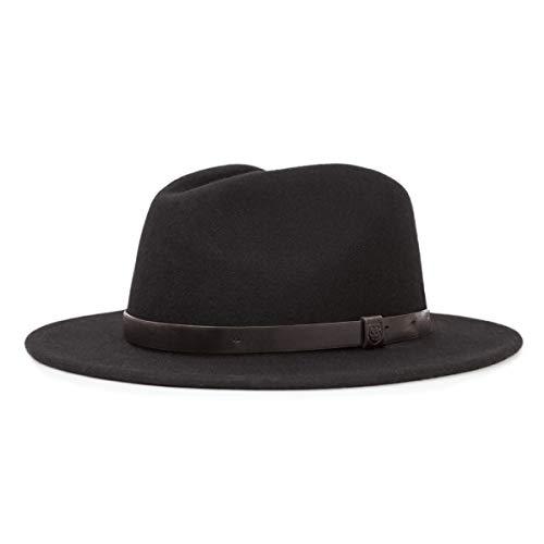Brixton Messer Medium Brim Felt Fedora Hat