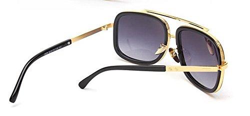 inspirées soleil du métallique Double polarisées Lennon cercle en Cendres de lunettes retro rond vintage style tFwqnpHC5x