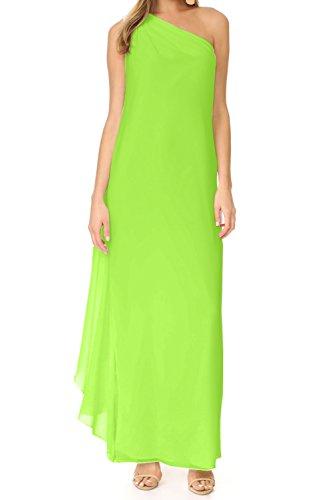 Missdressy - Vestido - trapecio - para mujer Verde