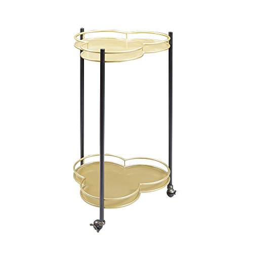Silverwood Felicity 2-Tier Clover Bar Cart by Silverwood