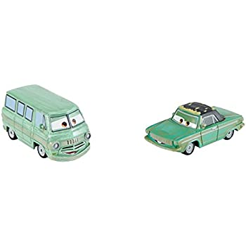 Disney Pixar Cars 3 Rusty Rust-Eze and Dusty Rust-Eze Die-Cast Vehicles