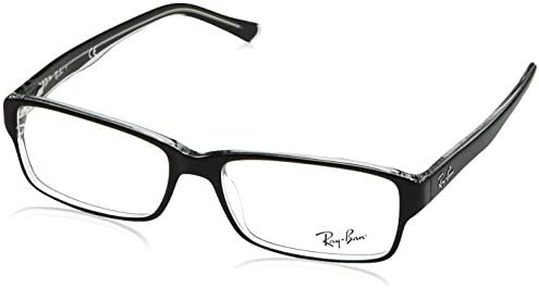 31d2079ba5de5 Amazon.com  Ray-Ban Glasses 5169 Black 2034 54mm  Ray Ban  Clothing