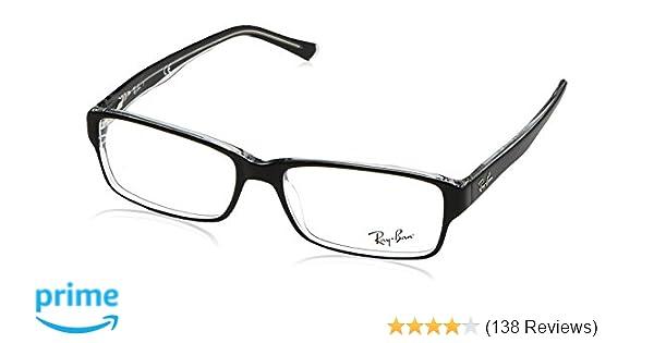 f1cf5db2cc Amazon.com  Ray-Ban Glasses 5169 Black 2034 54mm  Ray Ban  Clothing