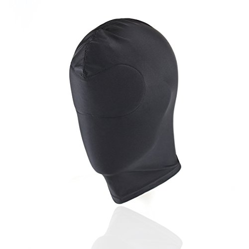 HOT-TIME-Black-Breathable-Face-Cover-Spandex-Zentai-Costume-Hood-Mask