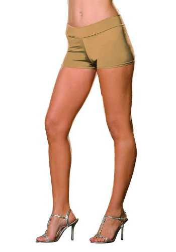 Dreamgirl Women's Roxie Hot Short, Nude, Small/Medium