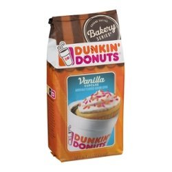 Dunkin' Donuts Bakery Series Vanilla Cupcake Ground Coffee (11 oz.) (PACK OF (Coffee Cupcake)