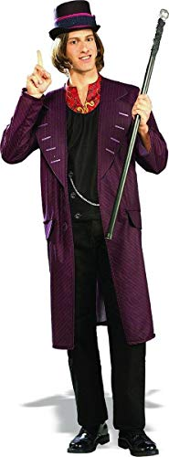 Rubie's Charlie and The Chocolate Factory Willy Wonka, Multicolored, One Size Costume ()