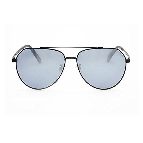 conducir polarizadas Gafas sol de completa gafas y de para de muje conducir polarizadas luz de con para aire es sol montura para libre antideslumbrante sol La antivibratorias Gafas gafas Silver adecuada al fXfx1q5wr