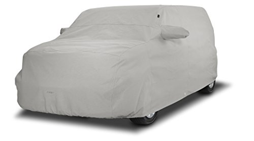 (Covercraft Custom Fit Car Cover for Toyota Mini Van (Technalon Evolution Fabric, Gray))