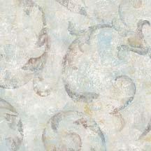 Blue Scroll Wallpaper - Norwall Textures 4 Scroll Wallpaper Blue